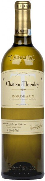 Вино Chateau Thieuley Blanc, Bordeaux AOC, 2010