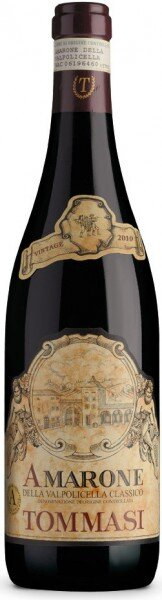 Вино Tommasi, Amarone della Valpolicella Classico DOC, 2010
