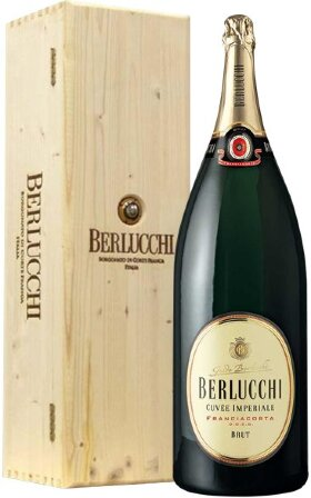 "Игристое вино Guido Berlucchi, ""Cuvee Imperiale"" Brut DOCG, wooden box, 6 л"