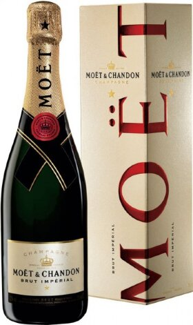 "Шампанское Moet & Chandon, Brut ""Imperial"", in gift box"