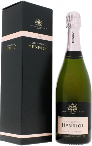 Шампанское Brut Millesime Henriot Rose, 2008, in gift box