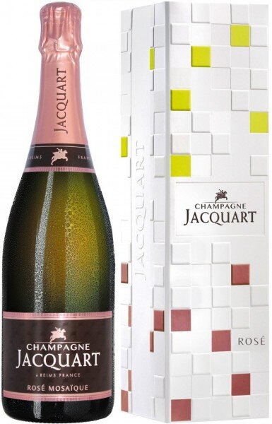 "Шампанское Jacquart, Rose ""Mosaique"", gift box"