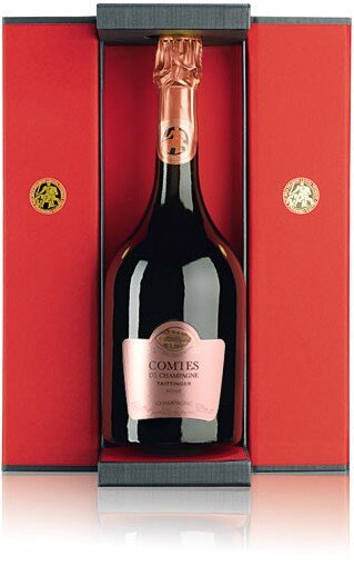 "Шампанское Taittinger, ""Comtes de Champagne"" Rose, 2005, gift box"
