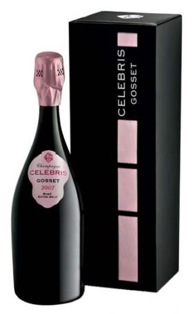 Шампанское Gosset Celebris Rose Extra Brut 2007 gift box 0.75л