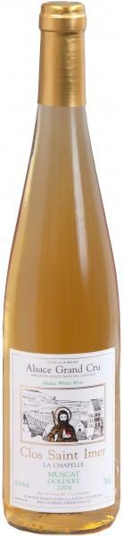 """Вино Muscat Cuvee """"La Chapelle"""" Clos Saint Imer AOC Grand Cru Goldert, 2004"""