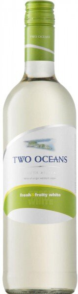 "Вино ""Two Oceans"" Fresh and Fruity White"