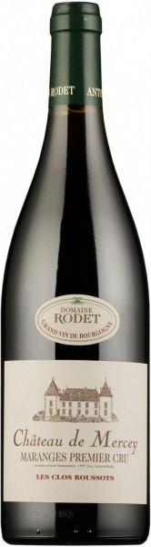 """Вино Antonin Rodet, Chateau de Mercey, Maranges Premier Cru """"Les Clos Roussots"""" AOC, 2012"""