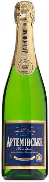 "Игристое вино ""Artemovskoye"" White Brut, 0.2 л"