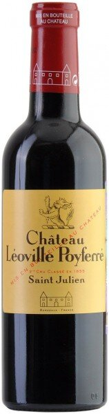 Вино Chateau Leoville Poyferre, 2007, 0.375 л