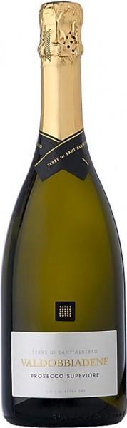 Игристое вино Terre di Sant'Alberto, Prosecco Superiore, Valdobbiadene DOCG, 0.375 л