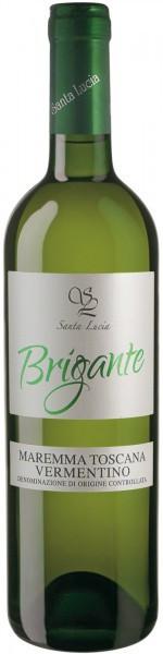 "Вино Santa Lucia, ""Brigante"" Vermentino, Maremma Toscana DOC, 2015"