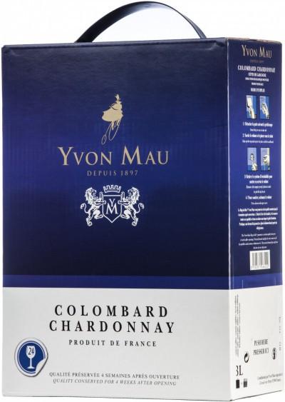 Вино Yvon Mau, Colombard Chardonnay, 3 л