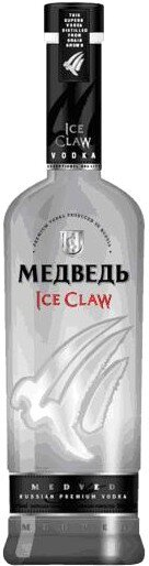 """Водка """"Medved"""" Ice Claw, 0.5 л"""