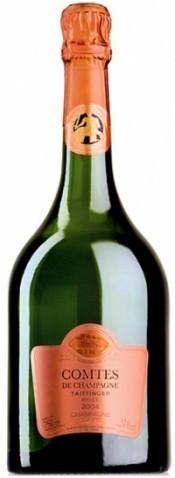 """Шампанское Taittinger, """"Comtes de Champagne"""", Rose, 2004"""