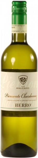 "Вино Pico Maccario, ""Berro"" Chardonnay, Piemonte DOC, 2011"