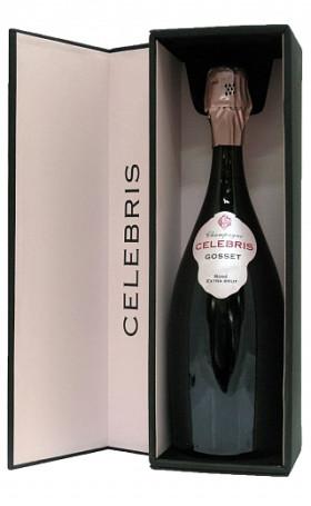 Шампанское Gosset Celebris Rose Extra Brut 2007 special edition 0.75л