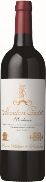 """Вино """"Mouton Cadet"""" Edition Vintage, Bordeaux AOC, 2014, 1.5 л"""