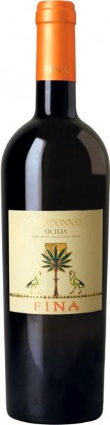 Вино Fina, Chardonnay, Sicilia IGT, 2011