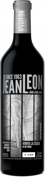 """Вино Jean Leon, """"Vinya La Scala"""" Cabernet Sauvignon Gran Reserva, Penedes DO, 2003"""