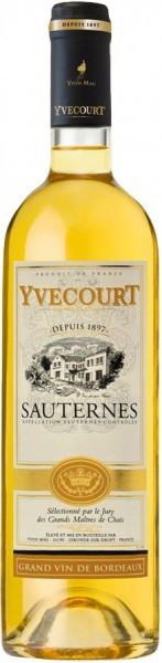 "Вино Yvon Mau, ""Yvecourt"" Sauternes AOC"