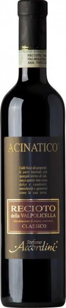 """Вино Stefano Accordini, Recioto Classico """"Acinatico"""" DOC, 2008, 0.5 л"""