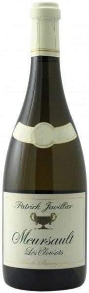 "Вино Patrick Javillier, Meursault ""Les Clousots"" AOC, 2011"