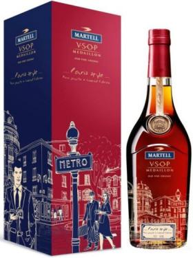 "Коньяк ""Martell"" VSOP, ""Paris style"", gift box, 0.7 л"