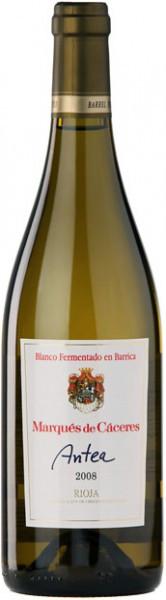 "Вино Marques de Caceres, ""Antea"" Blanco Fermentado Barrica, 2008"