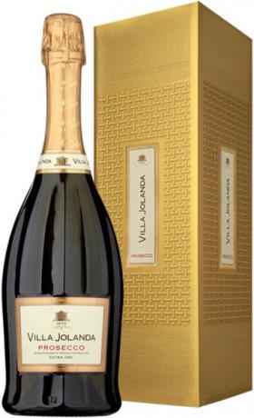"Игристое вино Santero, ""Villa Jolanda"" Prosecco DOC Extra Dry, Carved, gift box, 1.5 л"