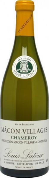 """Вино Louis Latour, Macon-Villages AOC """"Chameroy"""", 2010"""