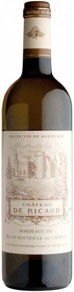 Вино Chateau de Ricaud, Bordeaux AOC, 2013