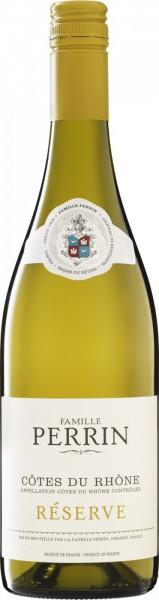 """Вино Perrin et Fils, """"Perrin Reserve"""" Cotes du Rhone AOC Blanc, 2015"""