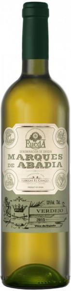 """Вино Bodegas El Cidacos, """"Marques de Abadia"""" Verdejo, Rueda DO, 2015"""