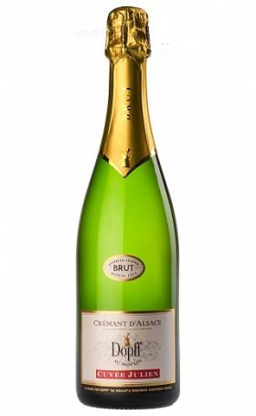 Креман Dopff au Moulin Cremant d`Alsace Chardonnay Brut 2014 AOC Cremant d`Alsace 0.75л