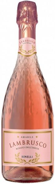 "Игристое вино ""Binelli Premium"" Lambrusco Rosato, Dell'Emilia IGT"