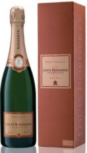Шампанское Brut Rose AOC 2005, gift box