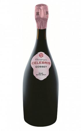 Шампанское Gosset Celebris Rose Extra Brut 2007 0.75л