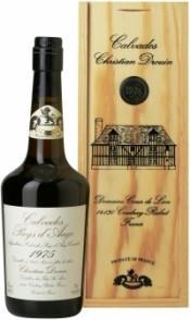 Кальвадос Coeur de Lion Calvados Pays d`Auge 1975, wooden box, 0.7 л
