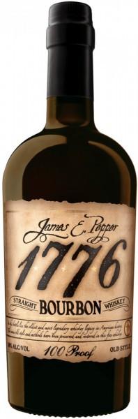 Виски James E. Pepper, 1776 Straight Bourbon, 0.7 л