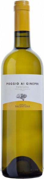 """Вино Argentiera, """"Poggio ai Ginepri"""" Bianco, 2014"""