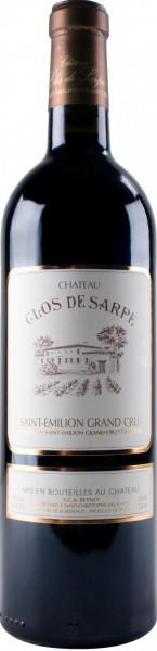 Вино Chateau Clos de Sarpe, Saint-Emilion Grand Cru AOC, 2004