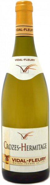 Вино Vidal-Fleury, Crozes-Hermitage AOC Blanc