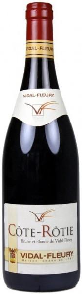 """Вино Vidal-Fleury, Cote-Rotie """"Brune et Blonde de Vidal-Fleury"""" AOC, 2005"""