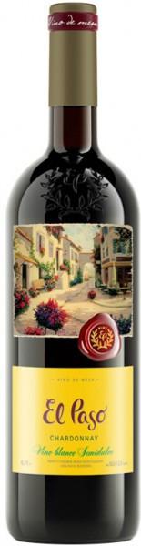 """Вино """"El Paso"""" Chardonnay Semidulce"""