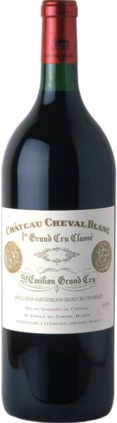 Вино Chateau Cheval Blanc, St-Emilion AOC 1-er Grand Cru Classe, 2004, 1.5 л