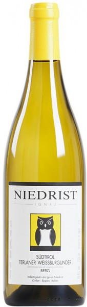 "Вино Niedrist, ""Terlaner"" Weissburgunder ""Berg"", Sudtirol DOC, 2014"