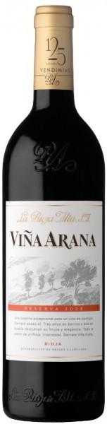 "Вино ""Vina Arana"" Reserva, Rioja DOC, 2008"