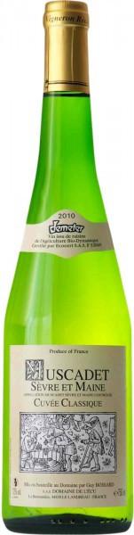"""Вино Domaine de l'Ecu, """"Cuvee Classique"""" Muscadet Sevre et Maine AOC, 2010"""