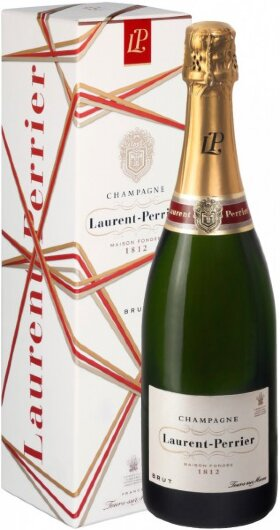 Шампанское Brut Laurent-Perrier, Christmas box