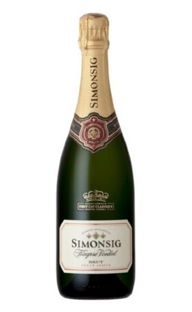 Игристое вино Simonsig Kaapse Vonkel Stellenbosch 2012 0.75л